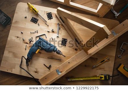 The electric drill repair Stock photo © stoonn