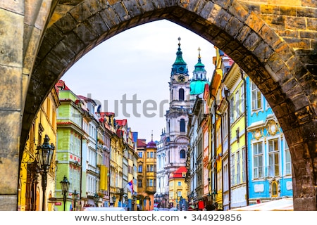 Architecture in Prague, Mala Strana. Stock photo © photocreo