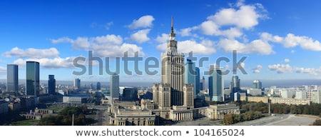 дворец культура науки Варшава Польша бурный Сток-фото © photocreo