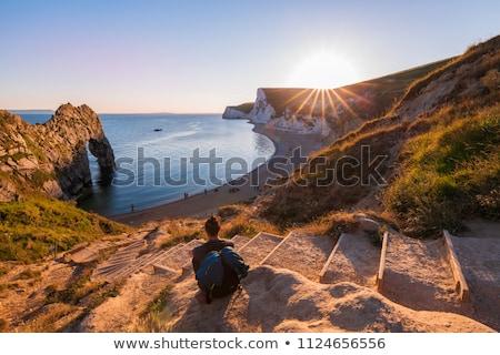 Cliff at Jurassic Coast, Dorset, England Stock photo © fisfra