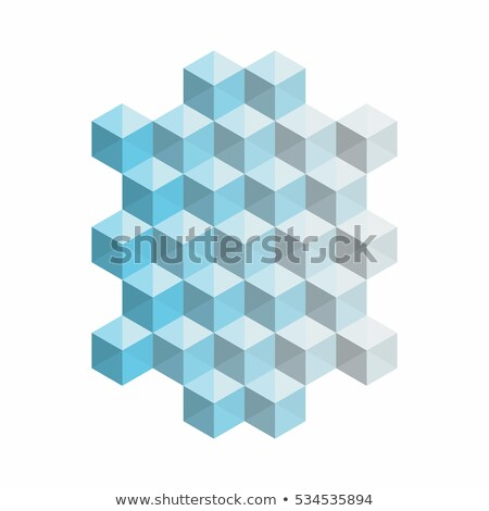 Stockfoto: Abstract · vector · 3D · textuur · licht