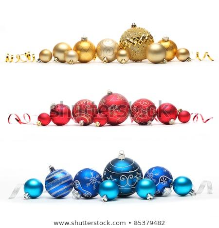 rouge · Noël · blanche · trois · différent · résumé - photo stock © calvste