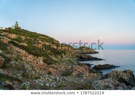 Deniz feneri tok görmek kamera duvar bakıyor Stok fotoğraf © jacojvr
