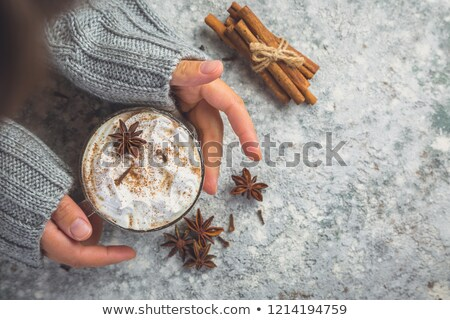 Hand glas turks tabel drinken Stockfoto © elly_l