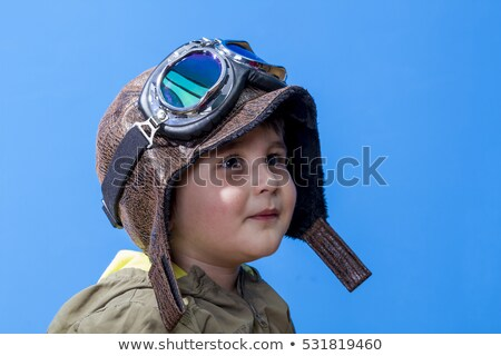 topless · rosa · cabelo · menina · capacete · quadro - foto stock © dolgachov