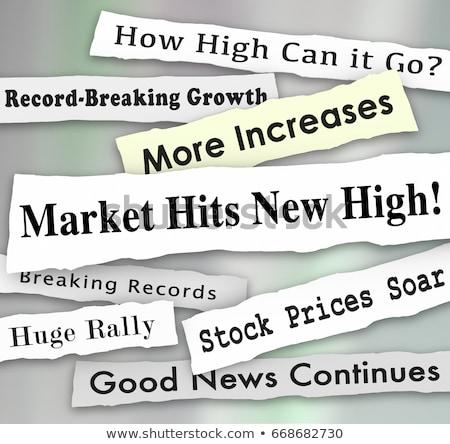 Headline market Stock photo © devon