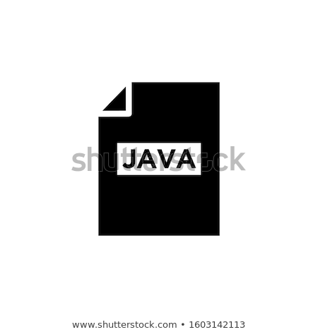 File type black icons as labels - graphics, coding Stock photo © RedKoala