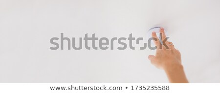 electrician touching ceiling stock photo © photography33