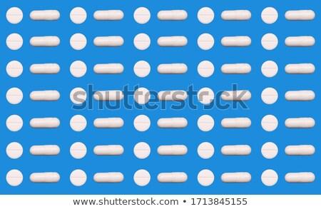 Due capsule bianco medici rosso suicidio Foto d'archivio © wavebreak_media