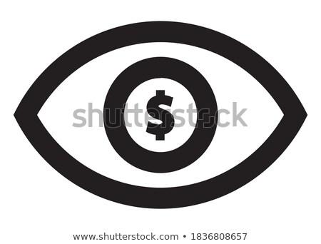Dollar Eyes Stock photo © limbi007