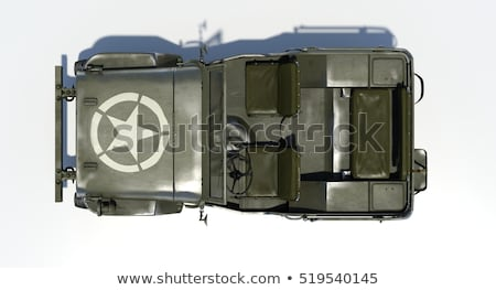 3D Isolated Willys Jeep Stock photo © TeamC