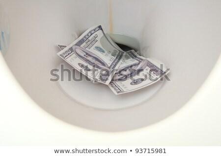 dolar · tuvalet · kağıdı · 3d · illustration · kâğıt · arka · plan - stok fotoğraf © jamdesign