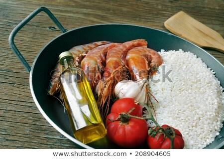 典型的な スペイン語 本物の 鶏 ウサギ ストックフォト © Photooiasson