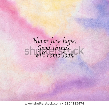 Losing Hope Stock photo © Lightsource