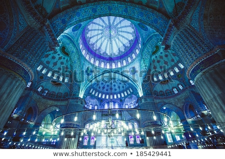 sultanahmet mosque interior in istanbul Stock photo © Mikko