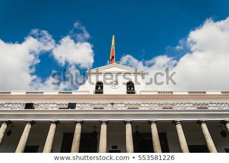Başkanlık bekçi saray ekvator 2011 Stok fotoğraf © pxhidalgo