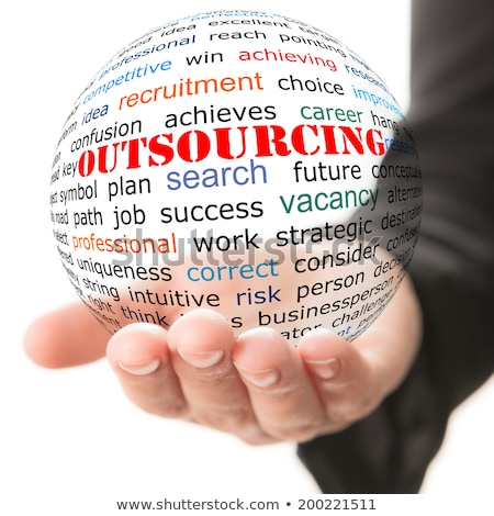 Outsourcing. Wordcloud Concept. Stock photo © tashatuvango