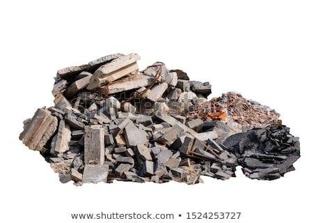 Building and rubbish Stock photo © Novic