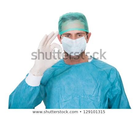 masculina · cirujano · uniforme · bueno - foto stock © AndreyPopov
