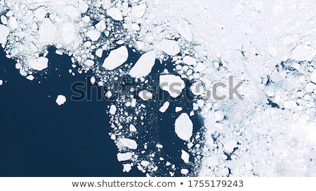 Melting snow is showing land Stock photo © deyangeorgiev
