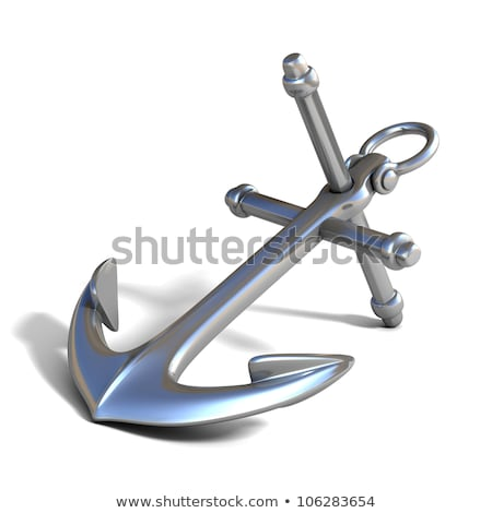 big naval anchor stock photo © alessandro0770