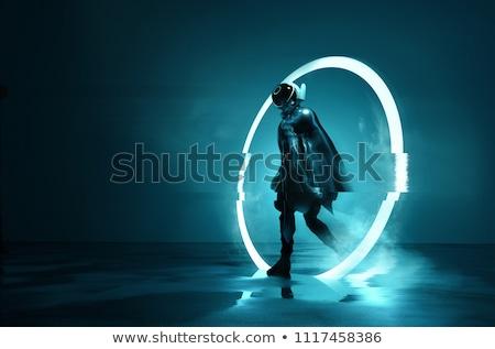 Robot Space Man Stockfoto © solarseven