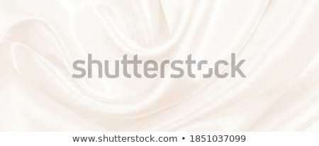 Smooth elegant golden satin Stock photo © ozaiachin
