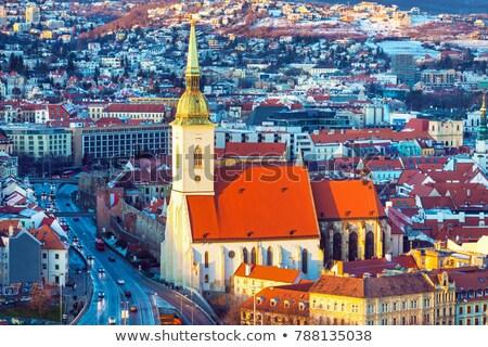 bratislava cathedral slovakia stock photo © joyr