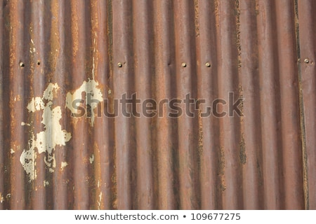 old rusty tin shed stock photo © clearviewstock