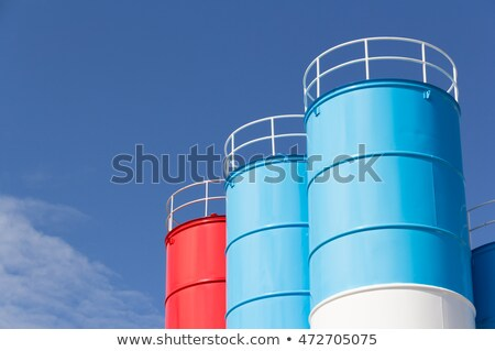 конкретные башни используемый небе здании зеленый Сток-фото © schizophrenia