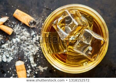Whiskey and  cigarette Stock photo © fuzzbones0