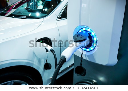 Electric vehicle charging station Stock photo © amok