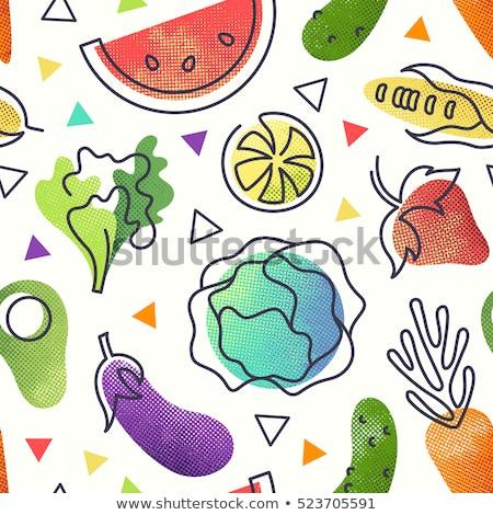 citroen · balsem · gekleurd · illustratie · vector - stockfoto © netkov1