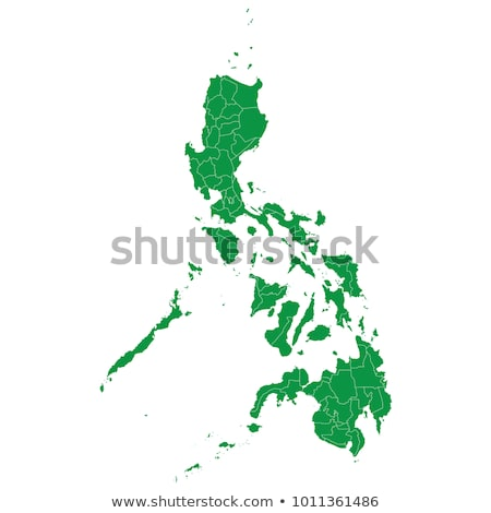 Karalama harita Filipinler doku arka plan seyahat Stok fotoğraf © ojal