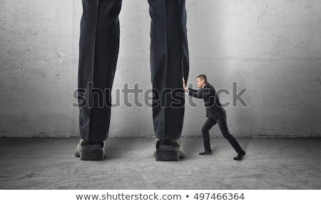 Сток-фото: ног · человека · мало · деловой · человек · изолированный · связи