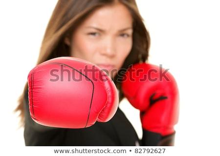 деловая · женщина · бокса · служба · спортивных · исполнительного - Сток-фото © alphaspirit