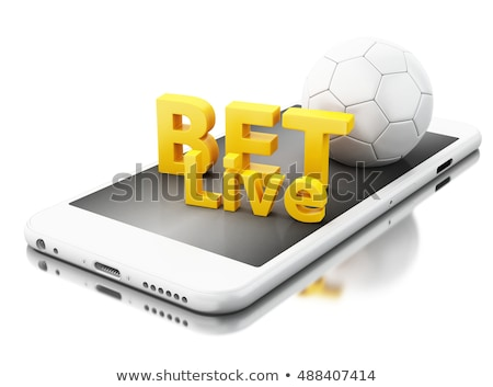 Soccer bet concept with football and money Stock photo © stevanovicigor