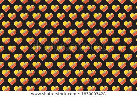 Amor Butão assinar isolado branco coração Foto stock © MikhailMishchenko