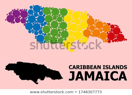 jamaica gay map Stock photo © tony4urban