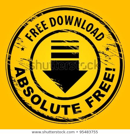 Free Download Yellow Vector Icon Design Stock photo © rizwanali3d