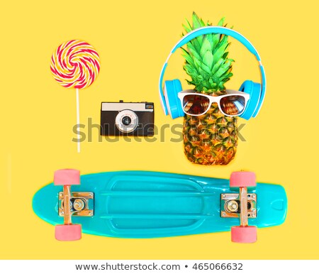A pink coloured skateboard Stock photo © bluering