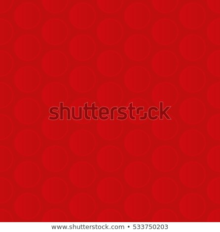 Bubble Wrap. Red Neutral Seamless Pattern for Modern Design in F Stock photo © almagami