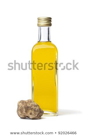 Truffle oil in glass bottle Stock photo © bluering