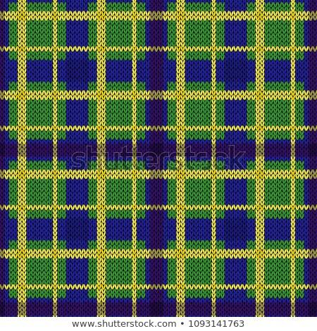 кельтской трикотажный текстуры цветок лист крест Сток-фото © carodi
