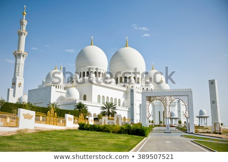 Sheik Zayed Mosque Stock photo © zambezi