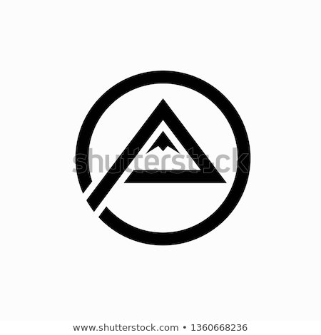 Montanha logotipo natureza azul viajar rocha Foto stock © sdCrea