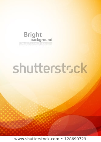 Stock photo: color background with circles and strips