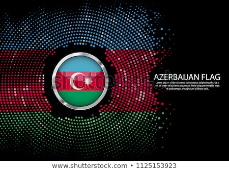 Azerbajdzsán felirat kitűző vidék Ázsia minőség Stock fotó © 5xinc