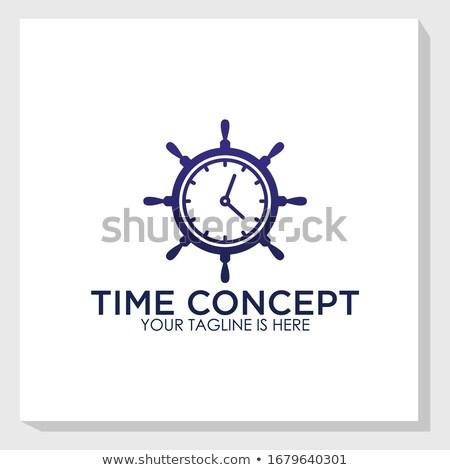 Ancla reloj oro blanco cuerda turquesa Foto stock © blackmoon979