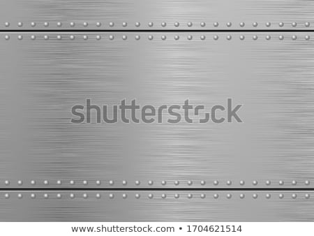 background with rivets Stock photo © ssuaphoto
